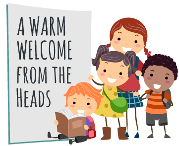 A warm welcome from the heads